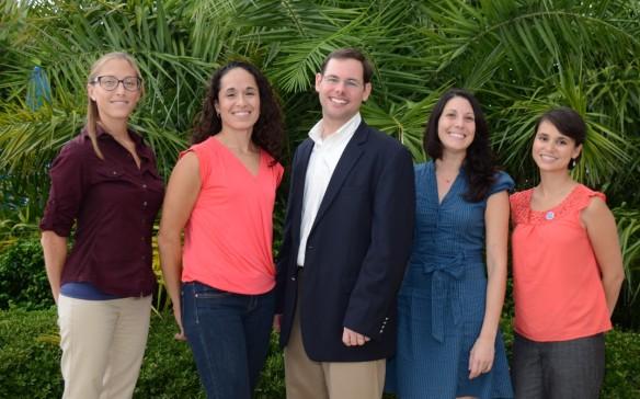 Oil spill outreach team photo