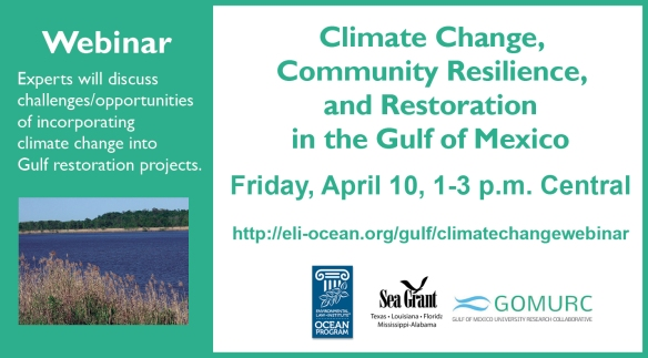 climate and restoration webinar graphic announcement