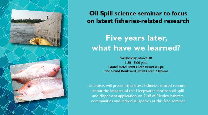 Mar 2015 FIsheries Science Seminar