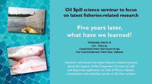 Mar 2015 FIsheries Science Seminar