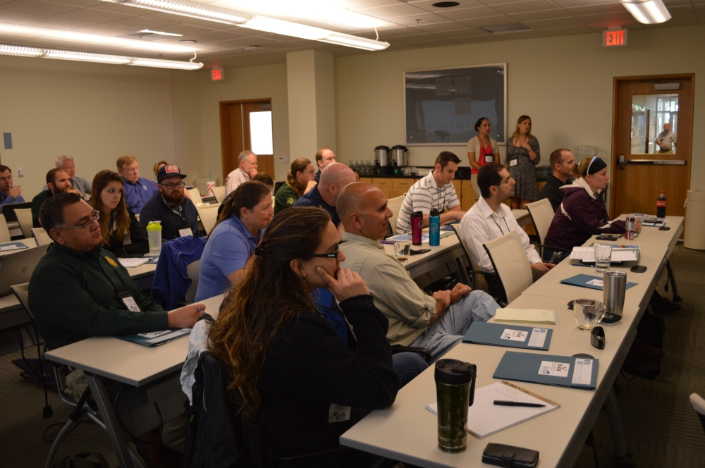 The workshop was held at the Mission-Aransas National Estuarine Research Reserve in Port Aransas, TX. Credit - University of TX