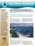 Oil spill science - FAQ thumbnail