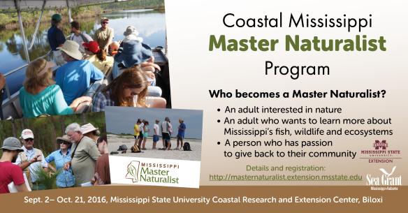 Master Naturalist Ad